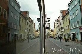 Schaufenster-Spiegelung