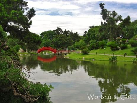 Teich im Japanischen Garten Buenos Aires