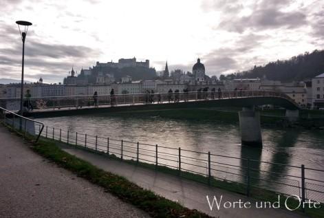 Fußgängerbrücke Salzburg