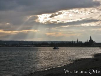 Winterstimmung über Bodensee und Konstanz